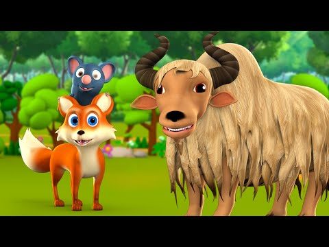 The Wise Mouse and Ghost Telugu Story - తెలివైన ఎలుక రాక్షసుడు నీతి కధ 3D Kids Bedtime Moral Stories