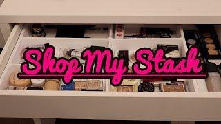 Shop My Stash Current Makeup Drawer 12/2/18