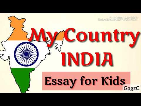 my country india paragraph