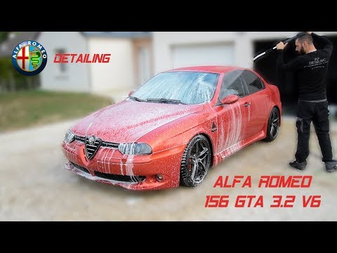 Detailing ALFA ROMEO 156 GTA 3.2 V6 ROSSO NUVOLA By MP Detailing
