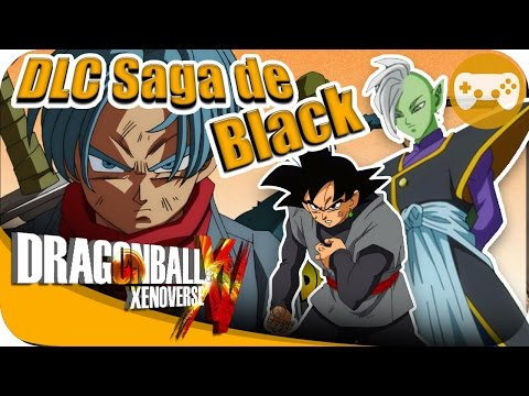 DLC TRUNKS DEL FUTURO LA SAGA DE BLACK | DRAGON BALL XENOVERSE
