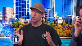 How Motor Sport Legend Travis Pastrana Stays Fearless | Studio 10