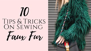 10 Easy Tips and Tricks on How to Sew Faux Fur