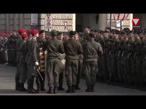 Angelobung Heldenplatz 26 10 2017 Youtube