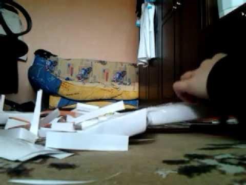 как сделать АК-47 из бумаги