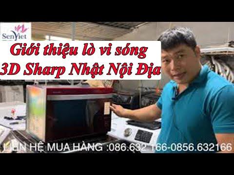 Giới Thiệu Lò Vi Sóng 3D Cảm ứng Shap Nhật Nội địa -0968632166