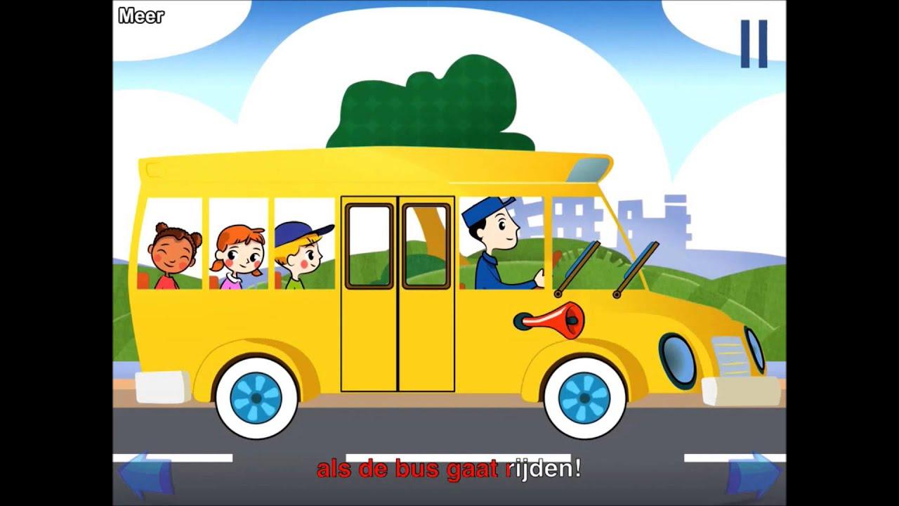 Nederlandse Kinderliedjes De Wielen Van De Bus Youtube