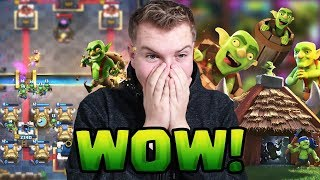 GOBLIN MADNESS! Maxed Account Goblins Only Deck! LIVE Ladder Gameplay - Clash Royale