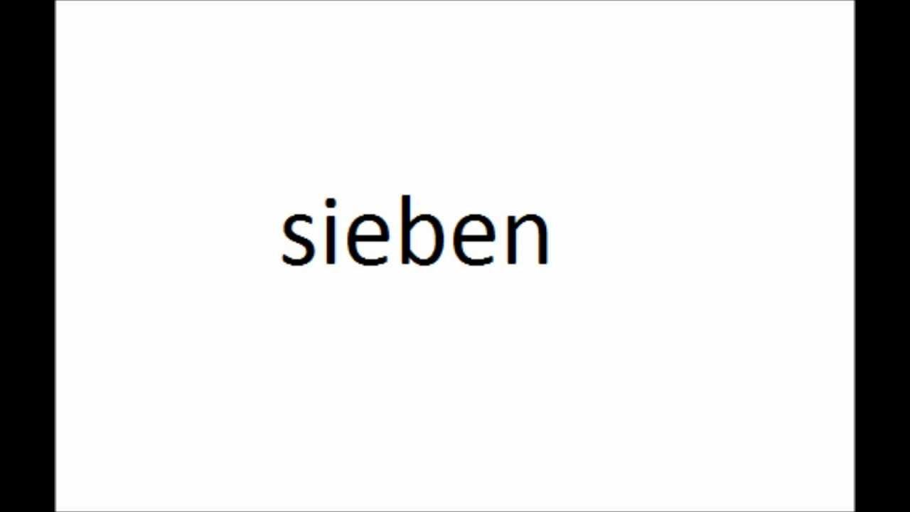 Populaire compter jusqu'à dix en allemand - YouTube RK73