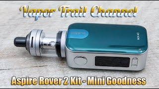 Aspire Rover 2 Kit w/ NX40 Mod & Nautilus XS Tank