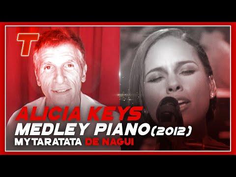 My Taratata - Nagui - Alicia Keys - Medley au piano