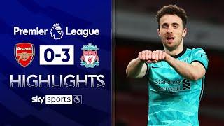 Jota & Salah score as Liverpool hit three past flat Arsenal | Arsenal 0-3 Liverpool | EPL Highlights