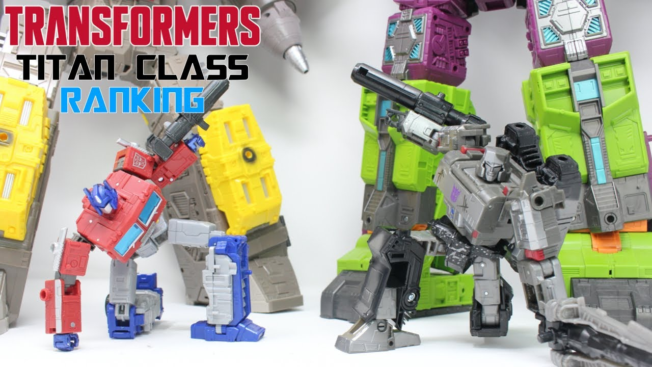 Transformers Generations TITAN CLASS Ranking by PrimeVsPrime