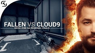 WESG 2018 NA Regional Finals: FalleN vs Cloud9