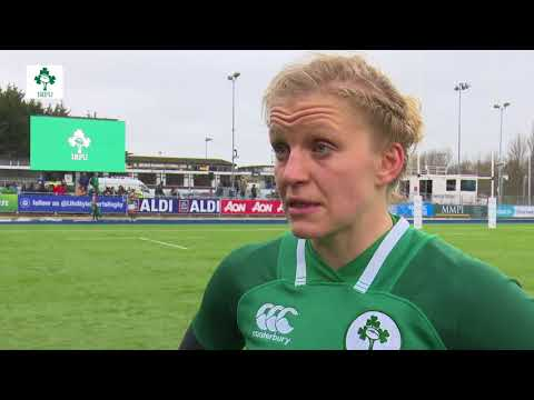 Irish Rugby TV: Claire Molloy Post-Match Reaction