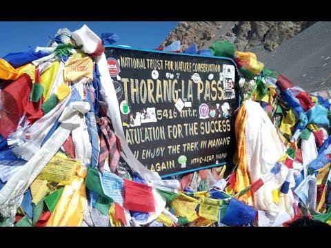 Annapurna Circuit Trek April-2018