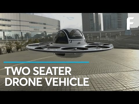 Fly to Work in Your Two-Seater Drone
