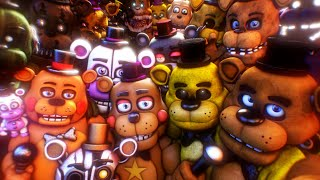 SFM FNAF: Every Freddy in a Nutshell