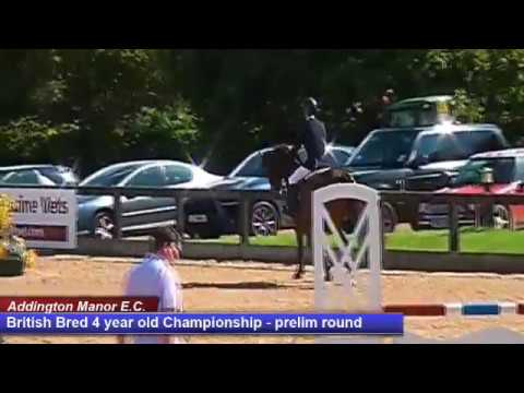 British Young Horse Showjumping Championships British Bred 4YO Prelim - Friday 18th August 2017