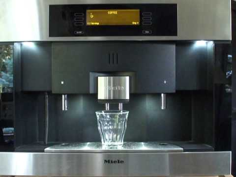 miele coffee machine whole bean cva 4070 youtube. Black Bedroom Furniture Sets. Home Design Ideas