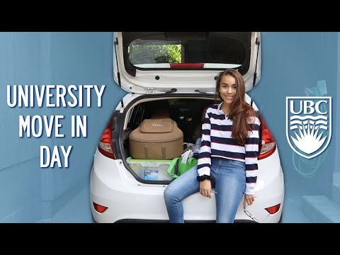 COLLEGE MOVE IN DAY || University of British Columbia