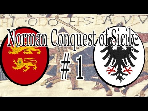 CK2   The Norman Conquest of Sicily - Part 1