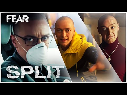 The Many Faces Of James McAvoy | Behind The Screams | Split