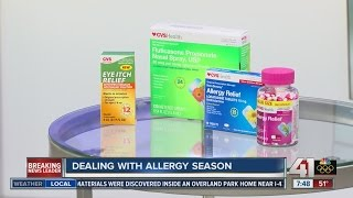 Dealing with allergy season