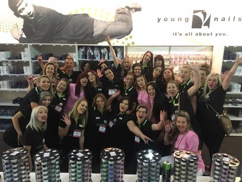 YOUNG NAILS SOUTH AFRICA - PRO BEAUTY EXPO 2016 AFTER MOVIE