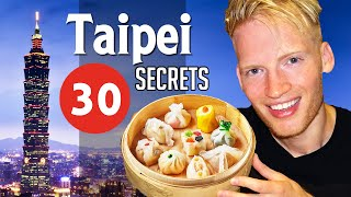 30 Secrets & Best Places in Taipei, Taiwan