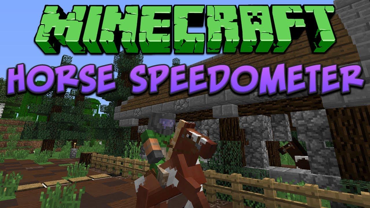 Minecraft Horse Speedometer Tutorial Youtube Fulldownload Minecrafthowtomakearedstoneclockcircuit