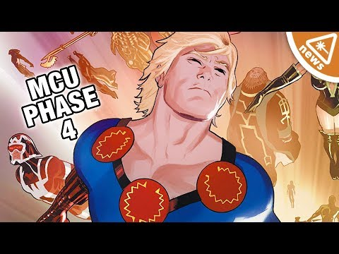 Kevin Feige Gives a MCU Phase 4 Update! (Nerdist News w/ Jessica Chobot)