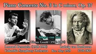 Beethoven: Piano Concerto No. 3, Gould & Bernstein (1959) ベートーヴェン ピアノ協奏曲第3番 グールド thumbnail
