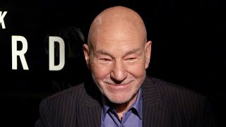 Watch Star Trek's Sir Patrick Stewart Talk About His Love for Pitbulls (Exclusive)