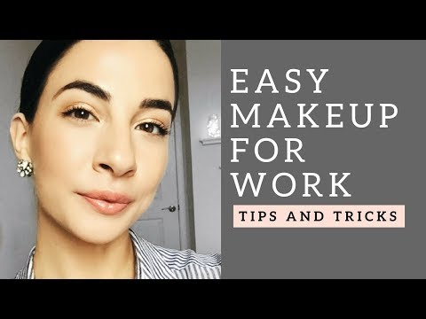 EVERYDAY WORK/INTERVIEW MAKEUP + TIPS