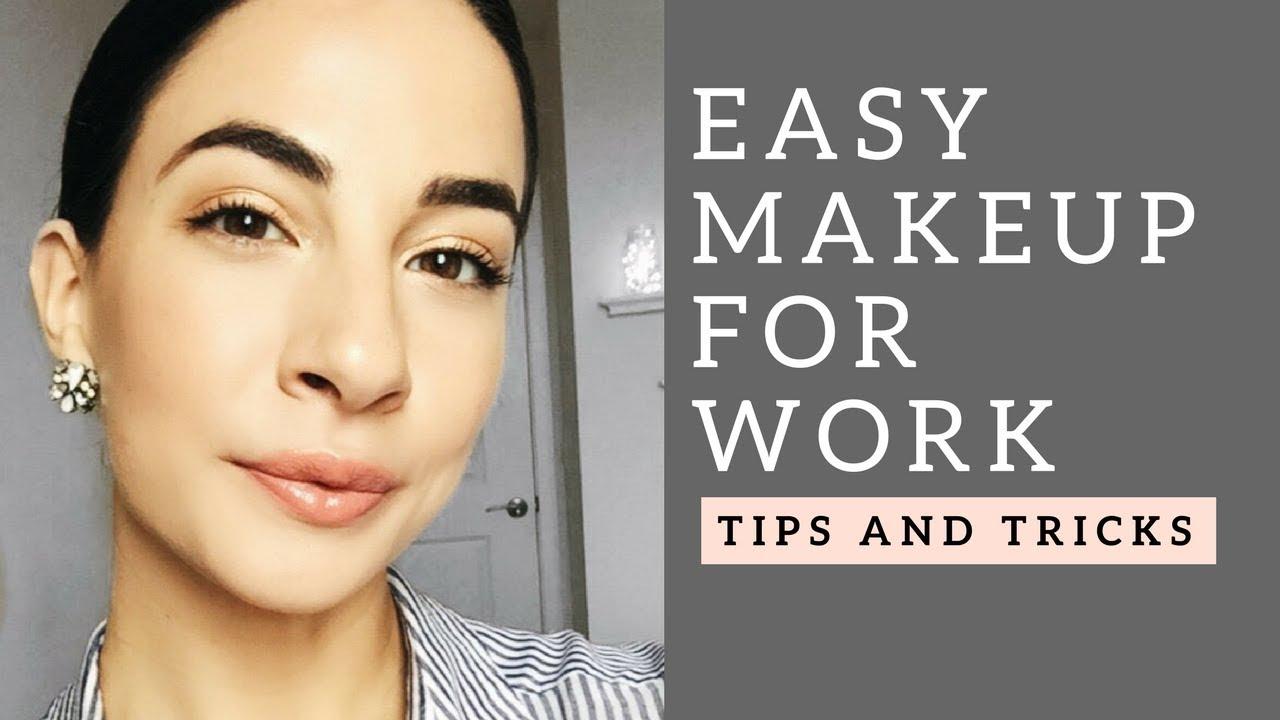 EVERYDAY WORK/INTERVIEW MAKEUP + TIPS