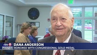 Local WWII vet receives Congressional Gold Medal