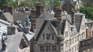 Amazing View Of Oxford University Spires From Sheldonian Theatre Cupola