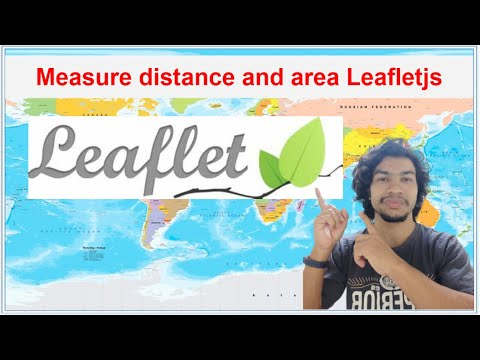 Download Measure distance and area on map leafletjs