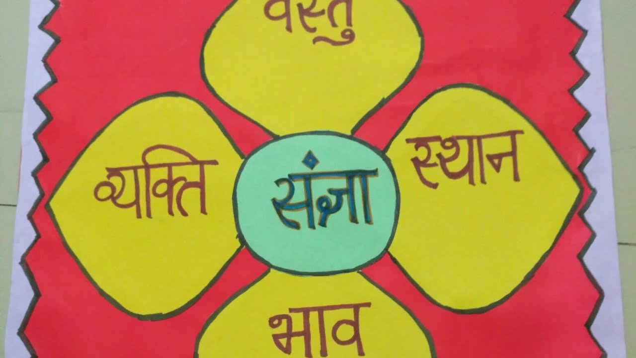 How to make hindi sangya chart 3 - YouTube
