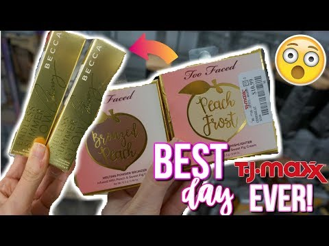 BECCA x CHRISSY AT TJ MAXX?!? BEST BUDGET BEAUTY BUYS |  HIGH END MAKEUP FOR CHEAP!