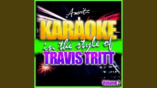 Tell Me I Was Dreaming (In the Style of Travis Tritt) (Karaoke Version)