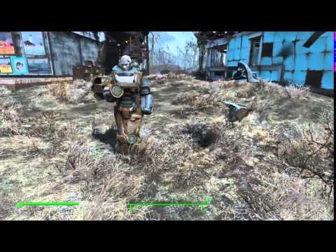 Fallout 4: Nick Valentine Transformer Glitch - YouTube