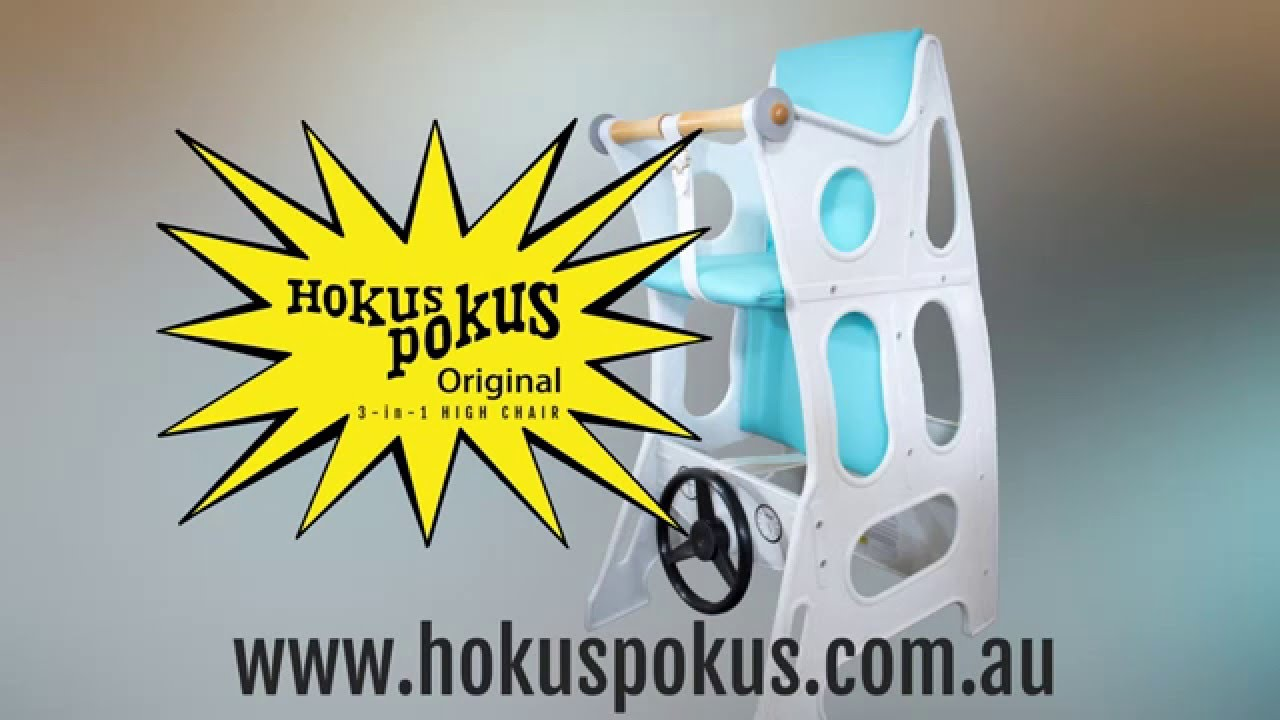 Hokus Pokus 3 In 1 High Chair Youtube