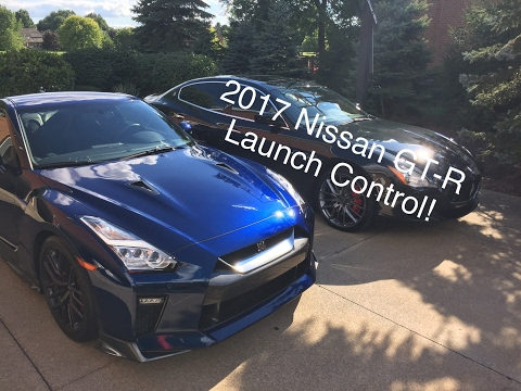 2017 Nissan GT-R Launch Control!