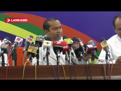 The Lankasri journalist asked questions : struggled Chief Minister