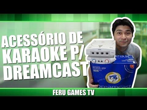 DreamCast karaoke você já viu??
