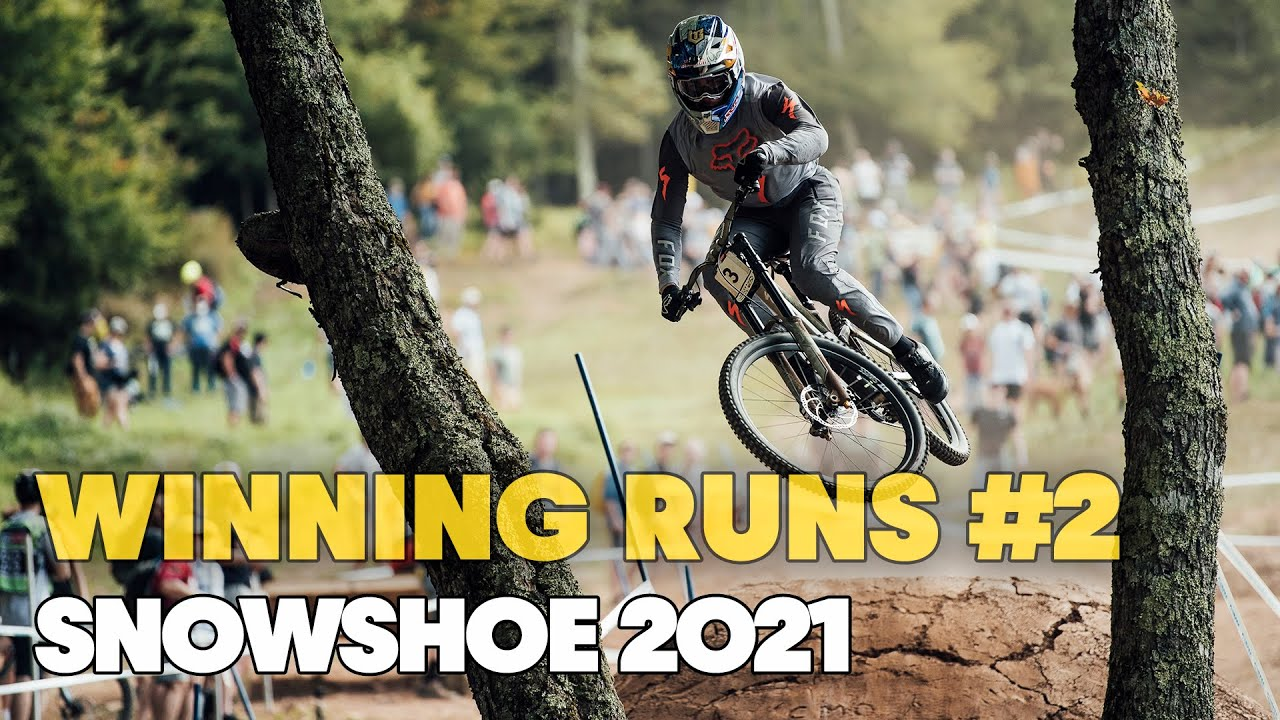 Winning Runs from Snowshoe Round #2 | UCI MTB World Cup 2021