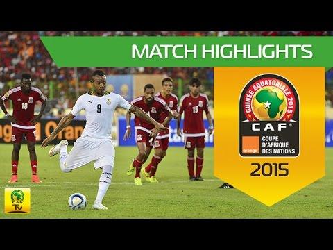 Ghana - Equatorial Guinea | CAN Orange 2015 | 05.02.2015