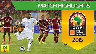 Ghana - Equatorial Guinea | CAN Orange 2015 | 05.02.2015